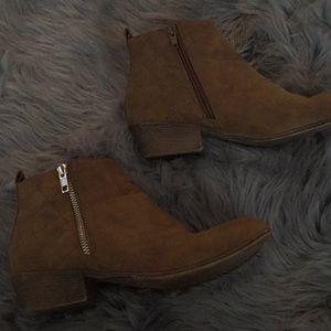 Brown booties !!
